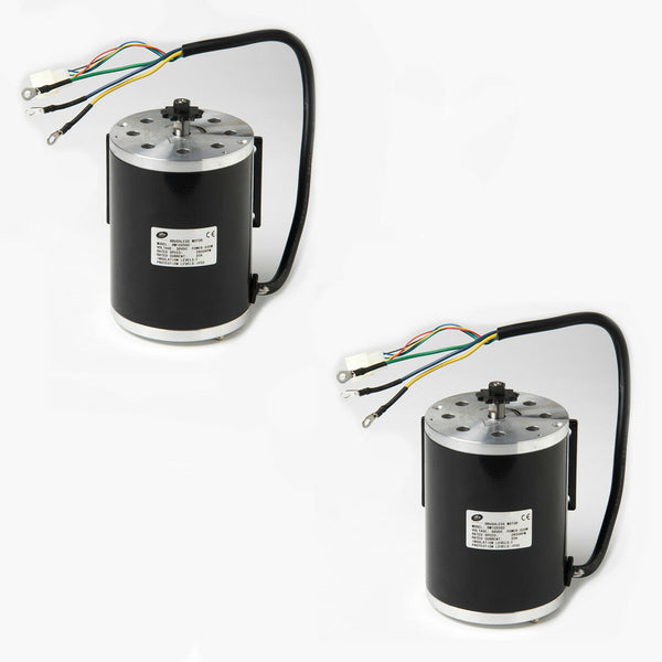 pair (2) 500W 36V BM1024 BLDC electric motor f Bike go-kart minibike Scooter
