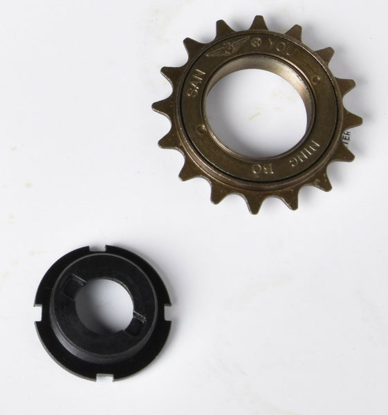 Free hub wheel sprocket w mounting nut f bicycle 410 standard chain