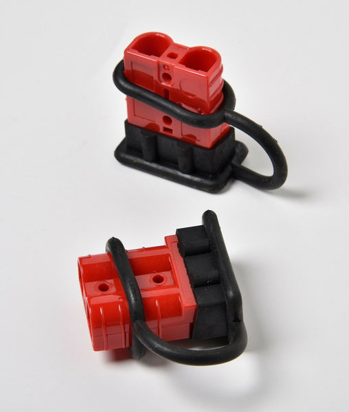 50A 6-8 Gauge Battery Quick Connect Disconnect Electrical Plug Winch Trailer