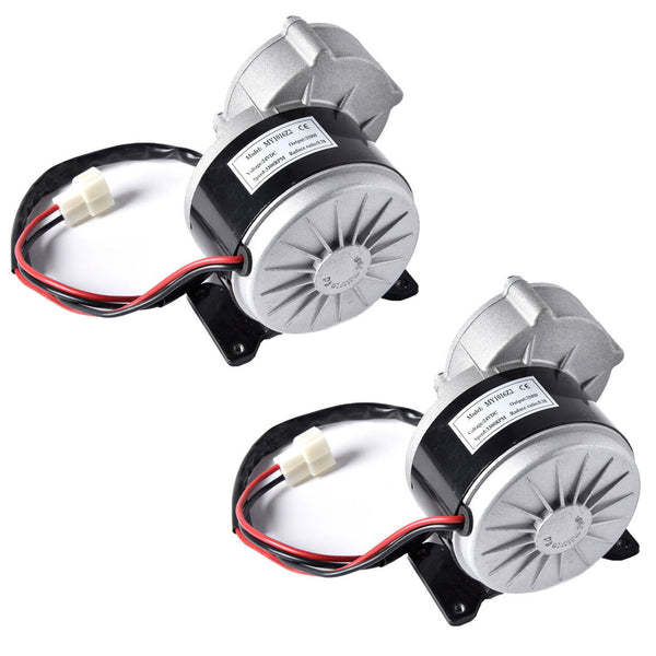 2 (Two) 24 Volt 250 Watt Motor Gear Reduction Razor Dirt Quad Scooter 24V 250W