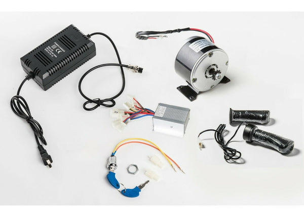 250W 24V electric motor 1016 kit+Speed Controller+Twist Throttle+Charger+KeyLock