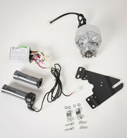 250W 24V electric brush motor conversion kit bicycle w control & 7 accessories