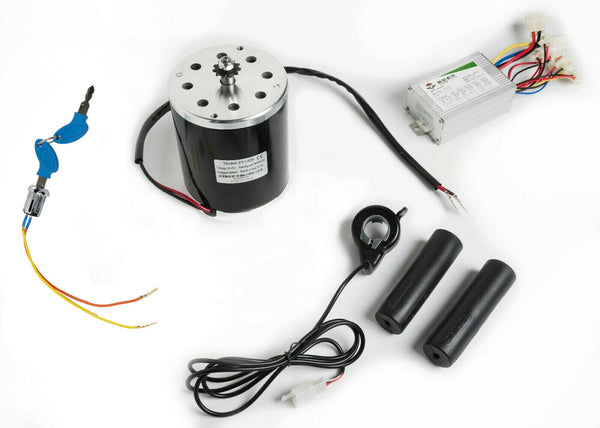 "#35 3/8"" Pitch 800W 36V electric motor+Control box+Key lock+Thumb Throttle"