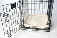 "1 Soft Padded Fleece Pet Bed Cushion Crate Pad Mat 2PET Larger Dogs Cats 32""x22"""