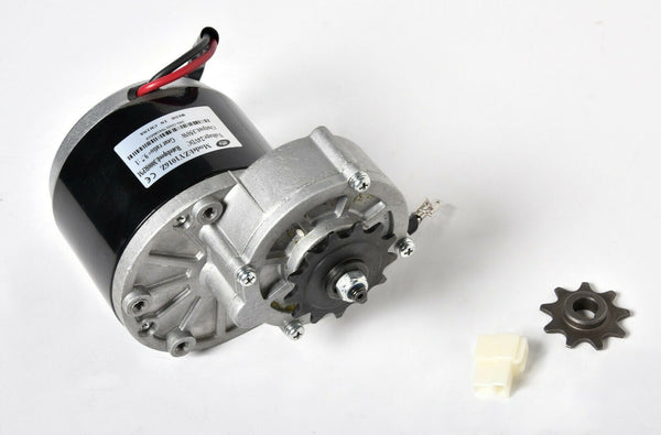 350W Gear 13T Face Mount 24 V DC electric motor f bicycle bike Go-Kart ZY1016z3