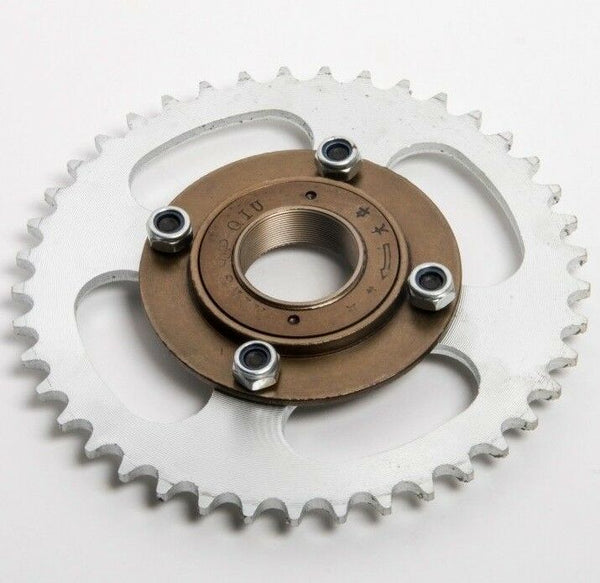 #420 41T 4 hole Sprocket drive gear w Free wheel f eATV Quad GoKart