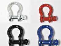 "5/8"" Lift Tow Bow Shackle D-Ring w 3/4"" Clevis Screw Pin WLL 7000 lbs 3.25 TON"