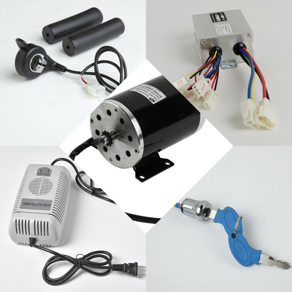 1000 W 48 V motor ZY1020 w base+speed controller+keylock+Thumb Throttle+charger