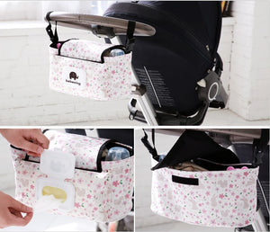 Cute Animal Stroller Organizer Bag