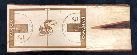 JayHawks/Naismith Court Wall Art