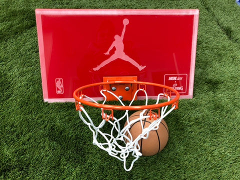 Red Mirror Jordan Mini Hoop