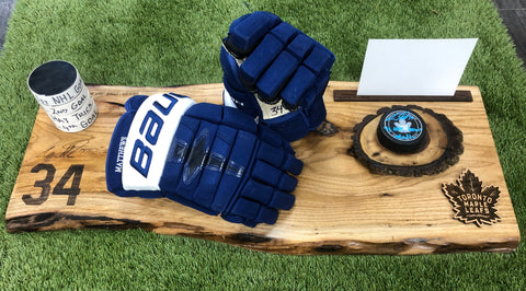 Auston Matthews Game Worn Gloves
