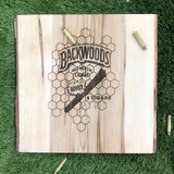 Backwoods Live Edge Medium Rolling Tray