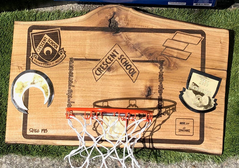 Custom Crescent x Endeavour Mini Hoop