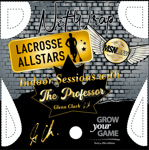 The Professor x LAS x MSNLazer Net Wrap Box Lacrosse