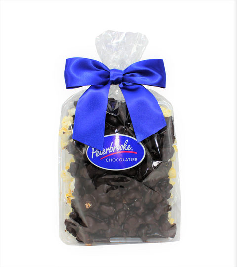 Dark Chocolate Covered Popcorn - 12oz Bag - Peterbrooke Chocolatier
