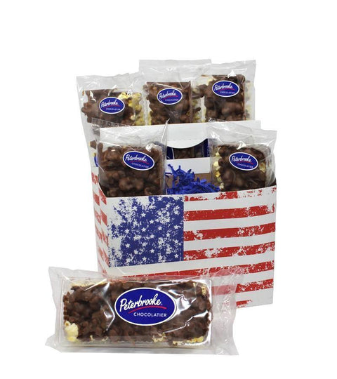 Chocolate covered popcorn 6 pack - Online Exclusive