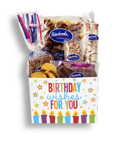 Birthday Wishes Gift Box - Peterbrooke Chocolatier