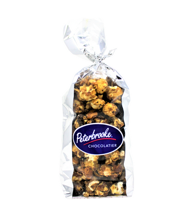 Caramel Corn Nut Crunch – DARK Chocolate - Peterbrooke Chocolatier