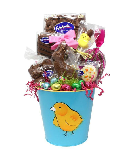 Easter Chick Gift Bucket