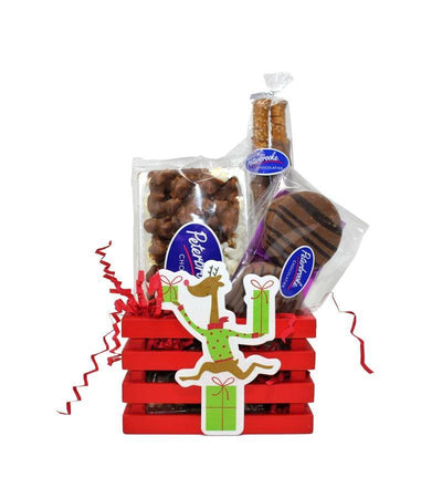 Reindeer Crate of Assorted Chocolates