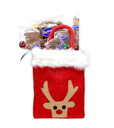 Raindeer Holiday Chocolates tote
