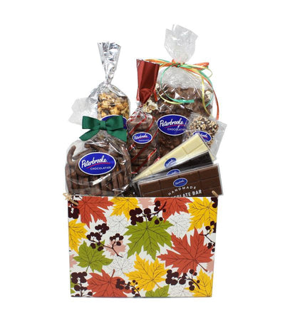 Fall Leaves Large Gift Box