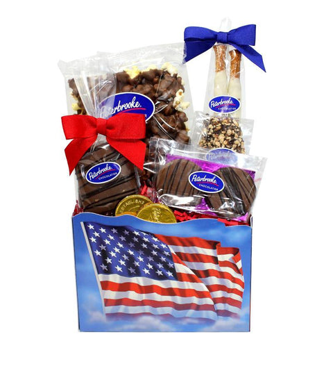 Stars and Stripes Flag Gift Box
