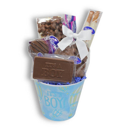 It's a Baby Boy Pail - Peterbrooke Chocolatier
