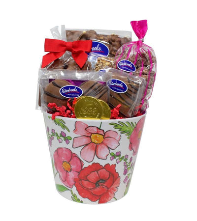 Floral Flourish Assortment of Chocolates Bucket