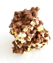 Milk Chocolate Covered Popcorn - 54oz Drum