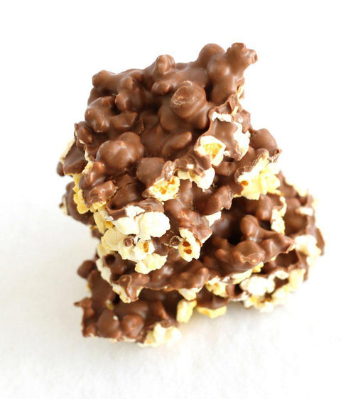 Milk Chocolate Covered Popcorn - 54oz Drum - Peterbrooke Chocolatier