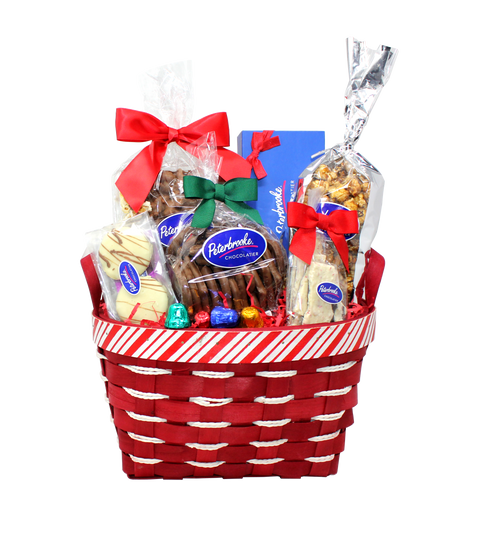 Peppermint Holiday Basket