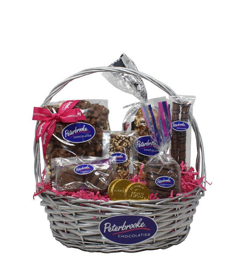 Sweet Treasures Chocolate Gift Basket - Peterbrooke Chocolatier