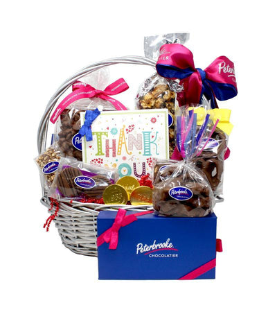 Thank You Chocolate Lovers Gift Basket