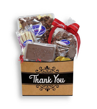 Thank You Kraft Gift Box - Peterbrooke Chocolatier
