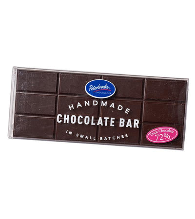 Solid 72% Chocolate Bar - Peterbrooke Chocolatier