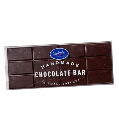 Solid Dark Chocolate Bar - Peterbrooke Chocolatier