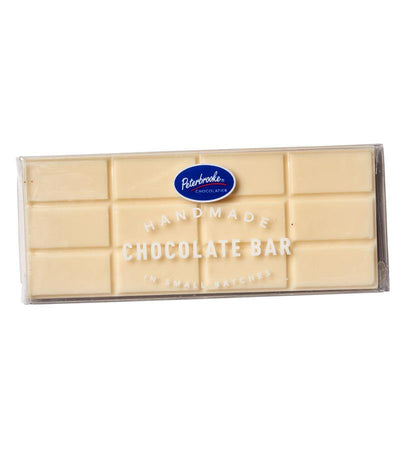 Solid White Chocolate Bar - Peterbrooke Chocolatier