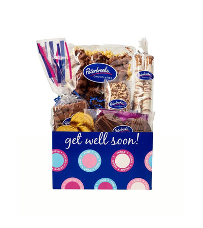 Get Well Soon Box of Assorted Chocolates - Peterbrooke Chocolatier