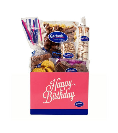 Happy Birthday Box of Assorted Chocolates - Peterbrooke Chocolatier