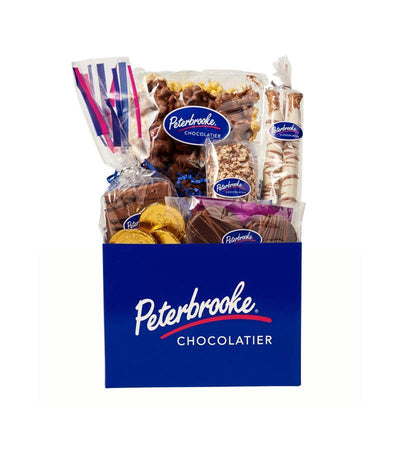 Blue Peterbrooke Box of Assorted Chocolates - Peterbrooke Chocolatier