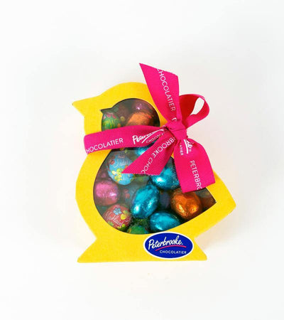 Chick Treat Box of Chocolate Eggs