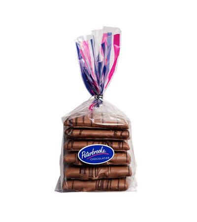 Hand-Dipped Milk Chocolate Graham Crackers - 6pc