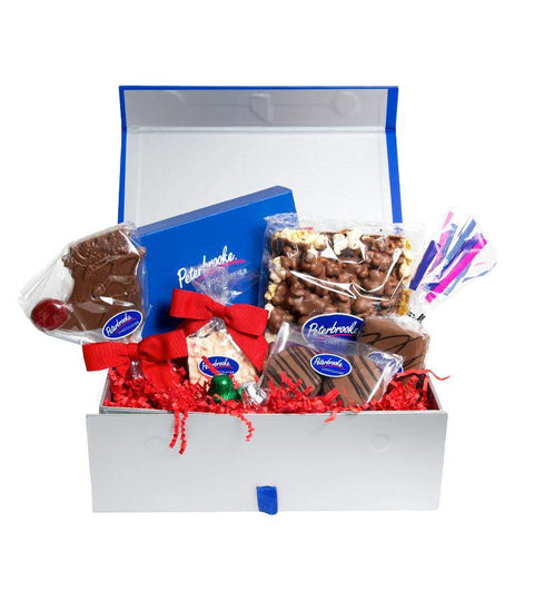 Small Holiday Gift Box of Assorted Chocolates
