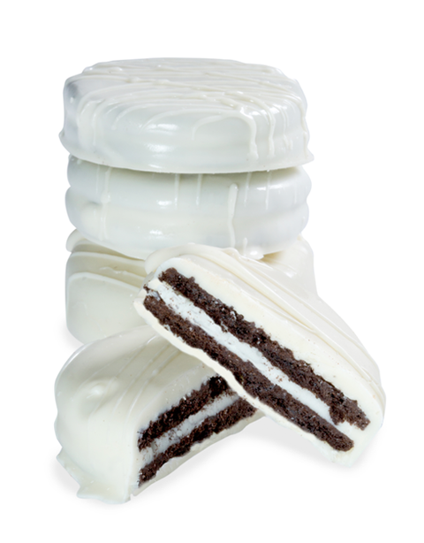 Hand-Dipped White Chocolate Oreos - 6pc - Peterbrooke Chocolatier