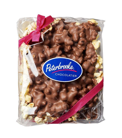 Milk Chocolate Covered Popcorn - 12oz Bag