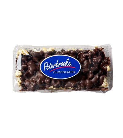 Dark Chocolate Covered Popcorn - 3oz Bar - Peterbrooke Chocolatier