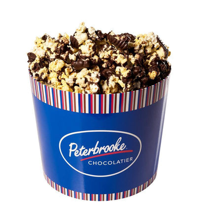 Dark Chocolate Covered Popcorn - 54oz Drum