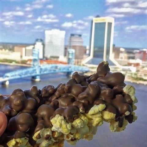 Milk Chocolate Covered Popcorn - 3oz Bar